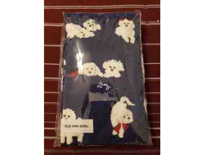 Lanz of Salzburg Puppy Love flannel pillow cases