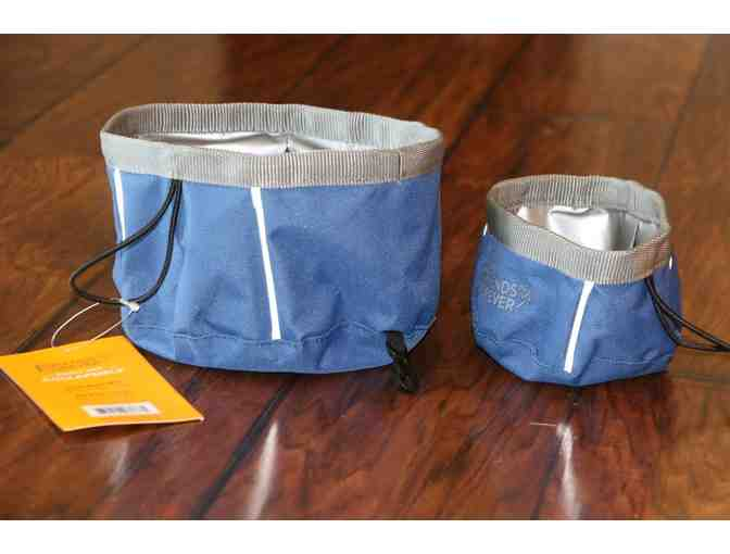 2 Pack Collapsible Travel Dog Bowls