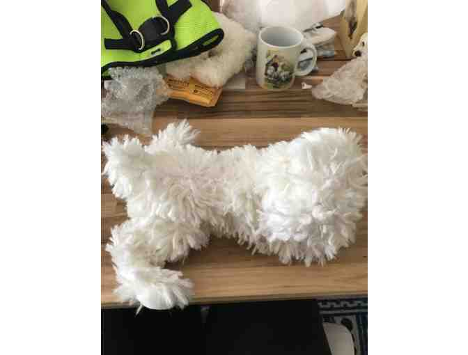 Stuffed Bichon by Douglas