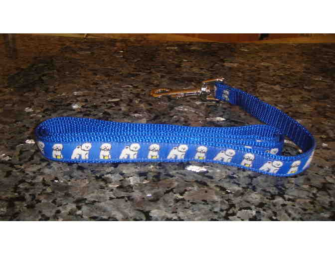 Blue Bichon Leash