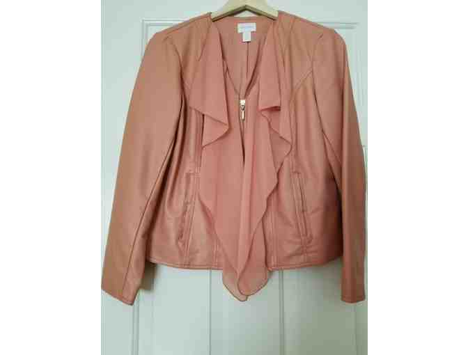 Chicos leather jacket - Size 1