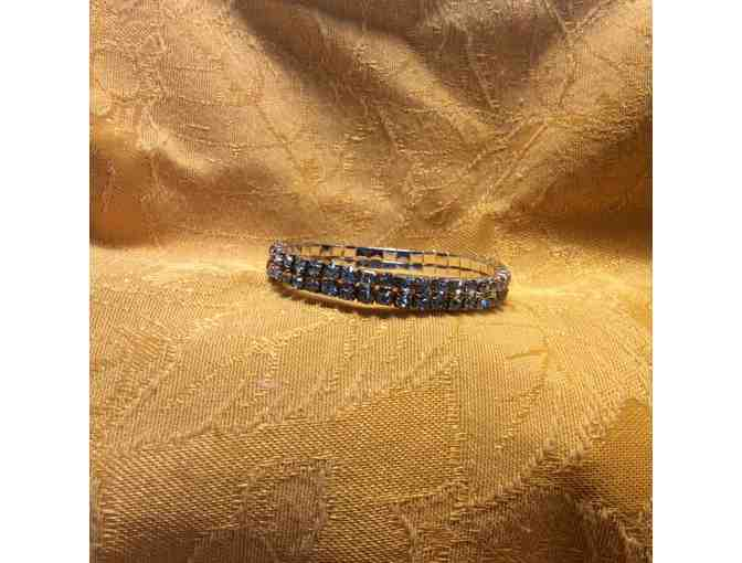 Ladies Sparkly CZ Bracelet