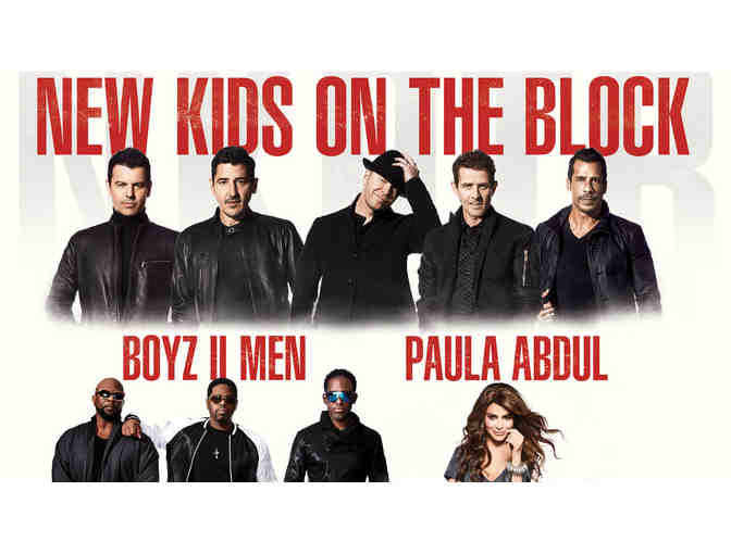 New Kids on the Block with Paula Abdul and Boyz II Men - Photo 1