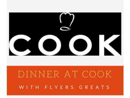 An evening at COOK with Flyers Greats