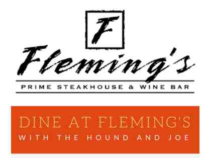 Dine at Fleming's with Flyers Alum: The Hound & Joe!