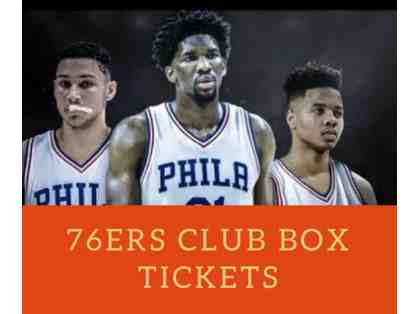 Sixers Club Box Tickets