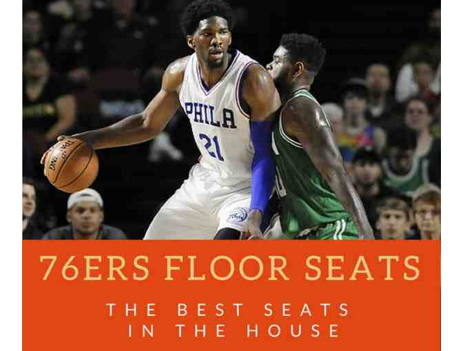Sixers Floor Seats: Game TBA