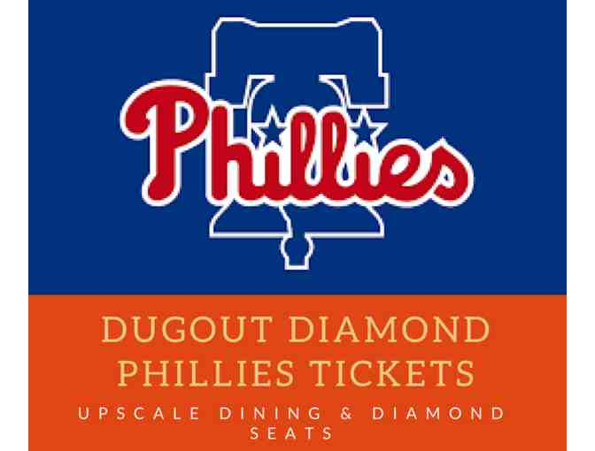 Dugout Diamond Phillies Tickets - Photo 1