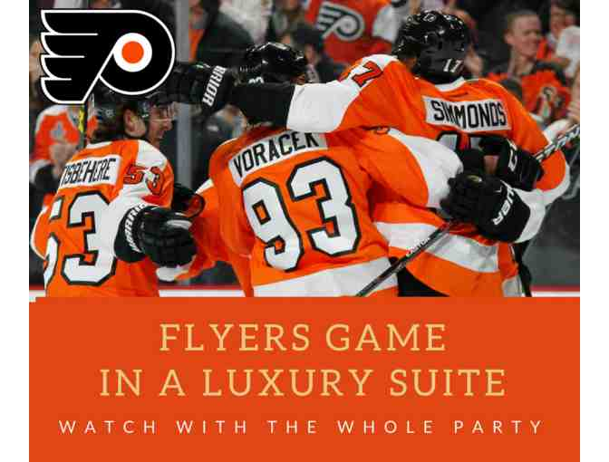 Flyers Game in a Luxury Suite (Food & Beer/Wine Included)