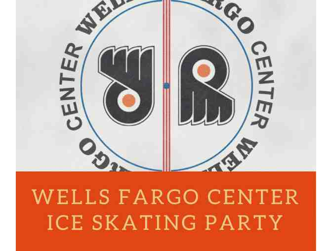 Wells Fargo Ice Skating Party with Alumni