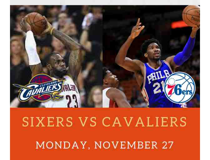 Sixers vs Cleveland Cavaliers