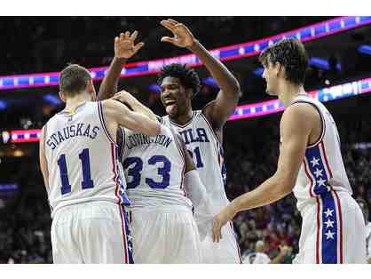 Club Box Sixers Tickets