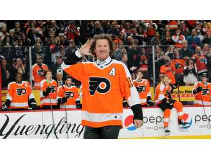 Flyers Pre-Game Meal with Scott Hartnell