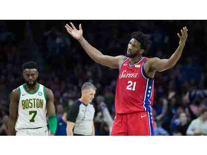 76ers Season-Opener vs. Boston Celtics