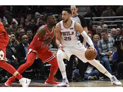 76ers vs. Chicago Bulls