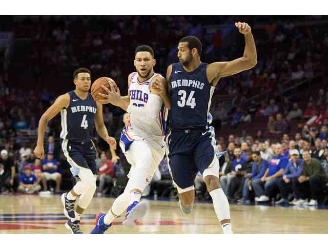 76ers vs. vs. Memphis Grizzlies - Photo 1
