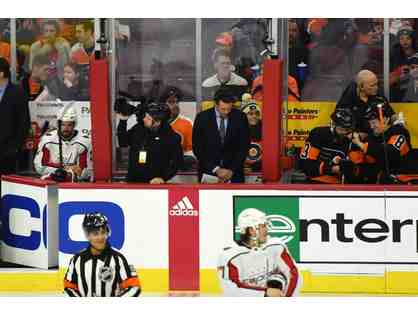 Between the Benches: Watch the Flyers from the Best Seat in the House