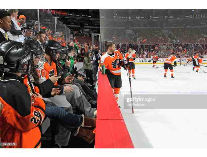 Flyers Pre-Game Benchwarmers - Photo 1