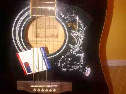 Acoustic Guitar signed by James Taylor