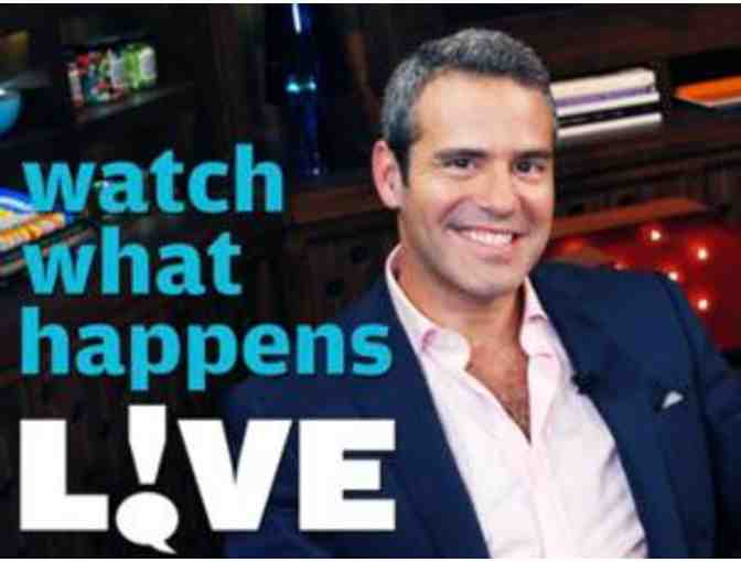 2 Tickets to Watch What Happens LIVE with Andy Cohen