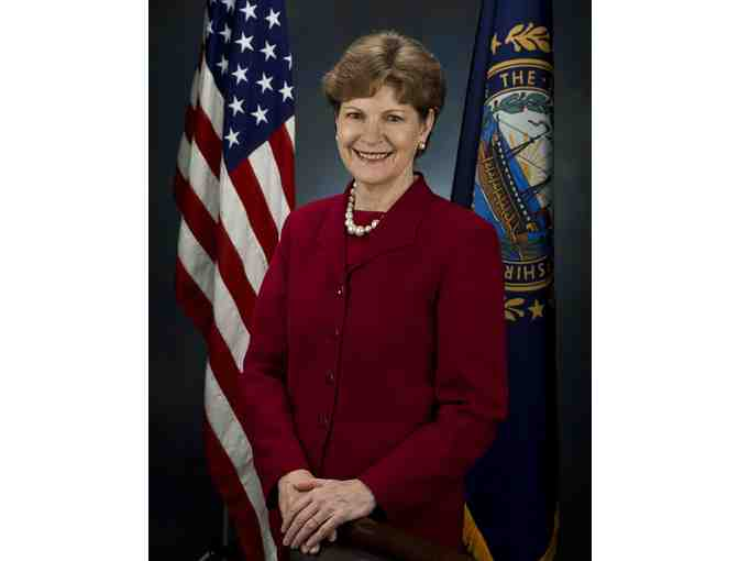 Tour of US Capitol and picture with US Senator Jeanne Shaheen