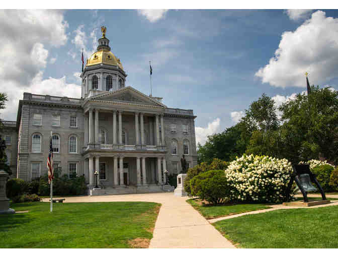 New Hampshire State House Tour & Lunch with NH Governor Chris Sununu for 4