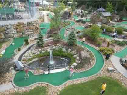 Chuckster's - Four Rounds of Mini Golf