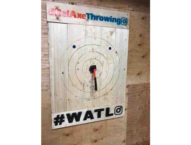 RelAxe Throwing - Two 1 hr Sessions of Axe Throwing - Photo 1