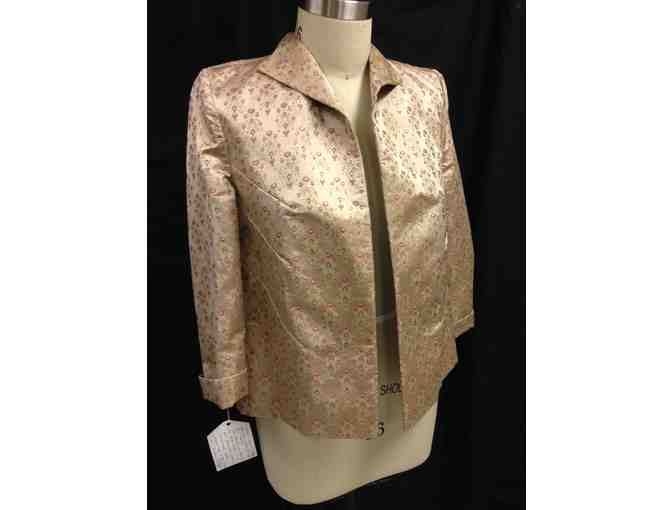 Pink and Gold Jacket by Leilani H. DeMuth