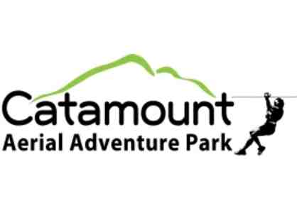 (2) Catamount Aerial Adventure Park Passes