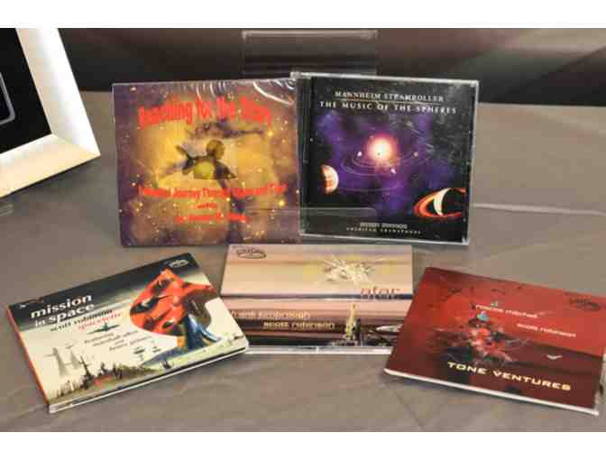CD Set/Mannheim Steamroller-Music of the Sphere/Dr Webb-Reaching for the Stars/Sciencsonic