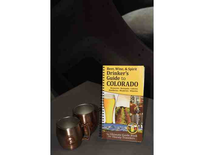 Drinker's Guide to Colorado and 2 Yuri's Night Commemorative Mugs
