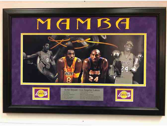 Kobe Bryant Memorial Framed Photo Display $200.00