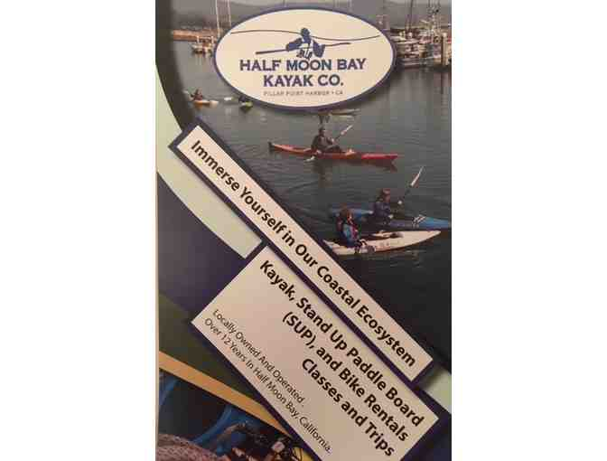 Double Kayak for 1 hour with Half Moon Bay Kayak Co.