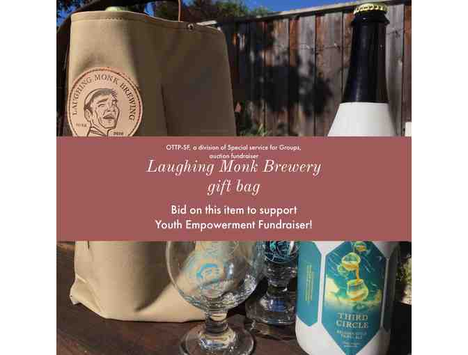 Laughing Monk: Local San Francisco Craft Brewery gift bag