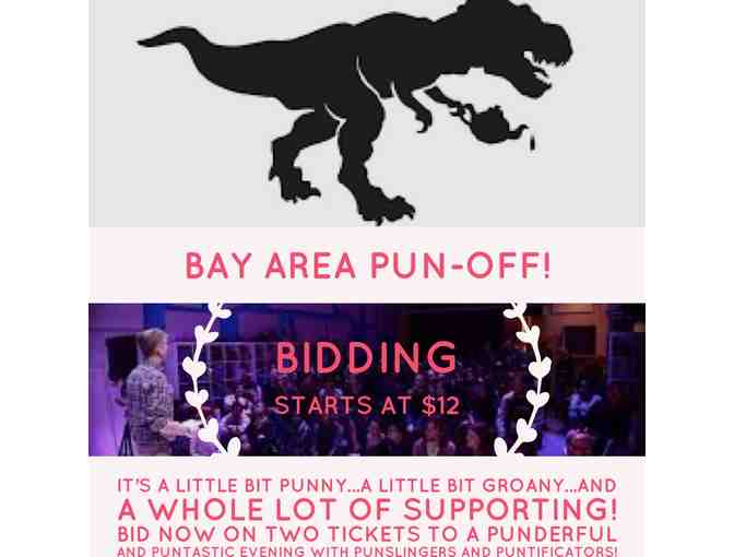 Bay Area Pun-Off!  It's going to be puntastic!