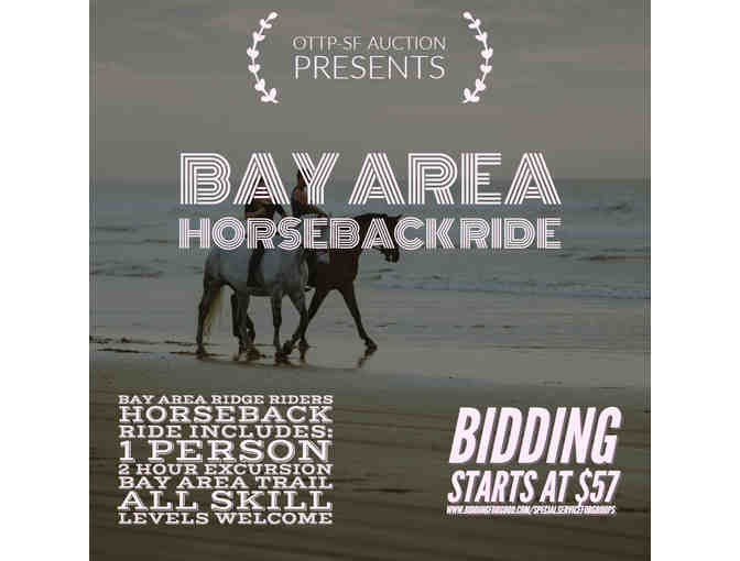 2 hour horseback trail ride with Bay Area Ridge Riders