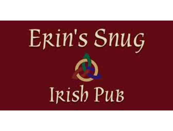 $50 Gift Card to Erin's Snug Irish Pub