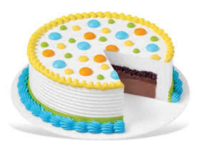 8 inch Dairy Queen Ice Cream Cake