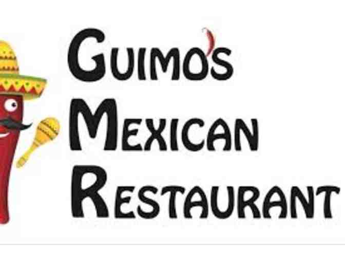 $25 Gift Card to Guimo's Mexican Restaurant
