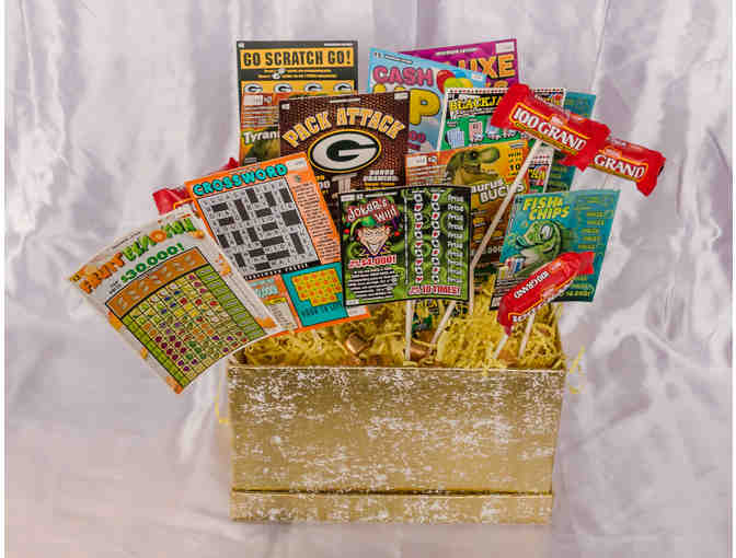 Horizon SCO Basket of assorted Lottery Tickets- You Could Be A Millionaire!!