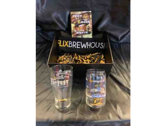 $40 Gift Card plus a T-Shirt and 2 Glasses to FlixBrewhouse
