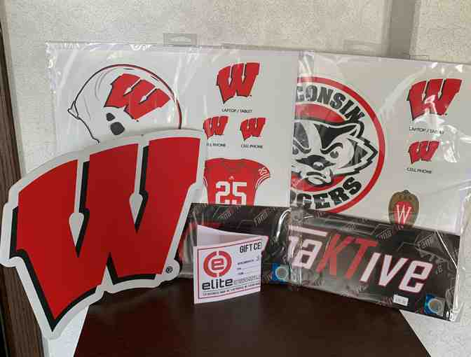 $100 Gift Certificate to Elite Embroidery plus Wisconsin Badger Decor