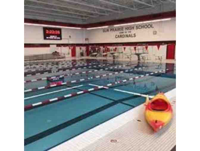 Pool Party for 50 Swimmers at SPHS