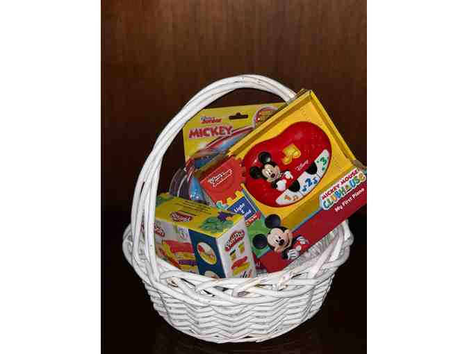 Minnie and Mickey Fun Basket