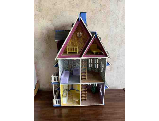 Handmade Victorian Dollhouse and School House