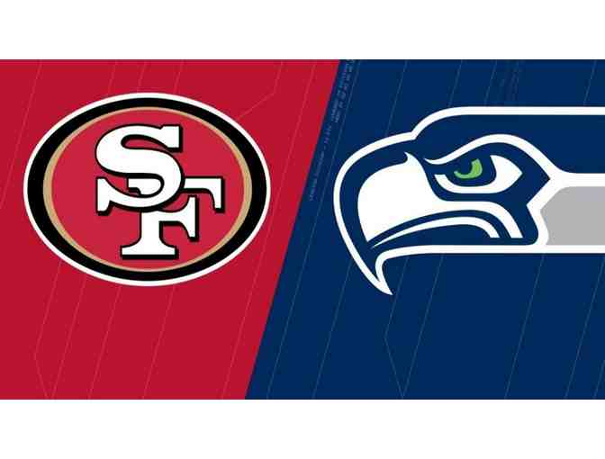 2 Tickets & Parking Pass to the 49ers v Seahawks - Photo 3