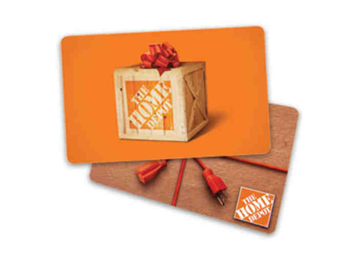 $100 Home Depot Gift Card - Photo 1