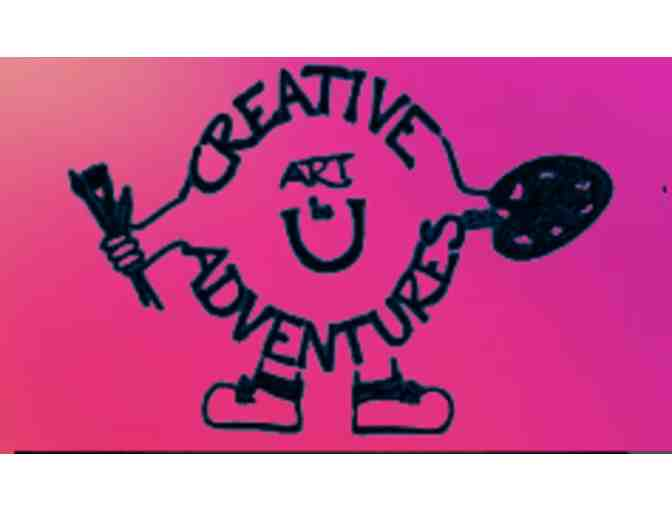Creative Art Adventures Fall 2020 Program (6 sessions)