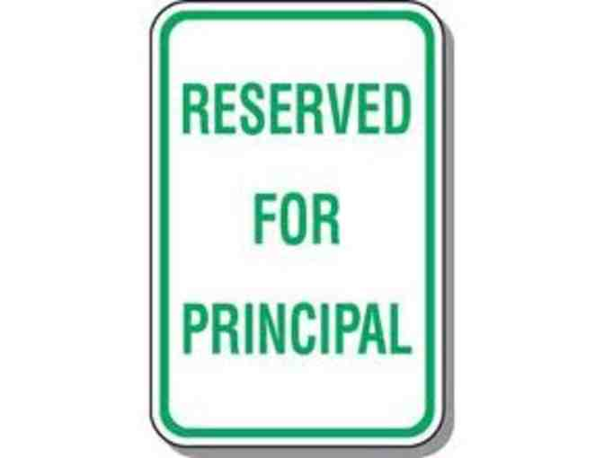 Principal's Parking Spot For a Week!!! - Photo 1